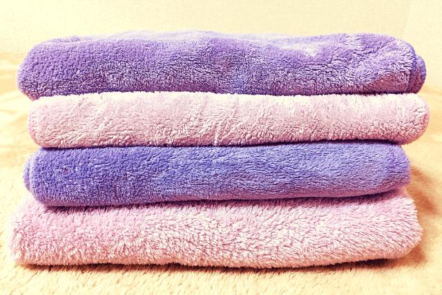 カラリのタオル